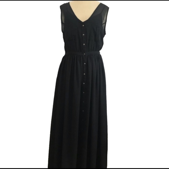 Urban Outfitters Dresses & Skirts - Black Maxi Dress - Urban Outfitters Sparkle & Fade